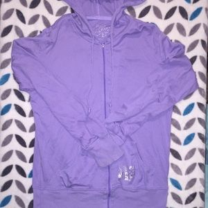 Purple Victoria secret zip up 💖
